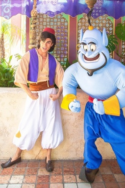 Why yes Aladdin, I would gladly go on a magic carpet ride with you . . . any day, any time. ;)