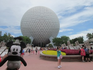 Epcot is the best place to spend the fourth of July in Dineyworld