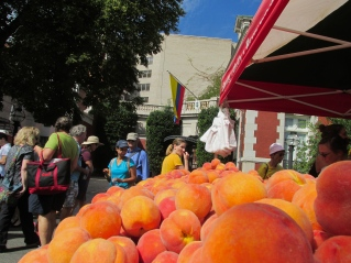 The Farmers Market was basically on Embassy Row.